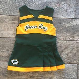 Other - Girls Greenbay Cheerleader Dress 2T